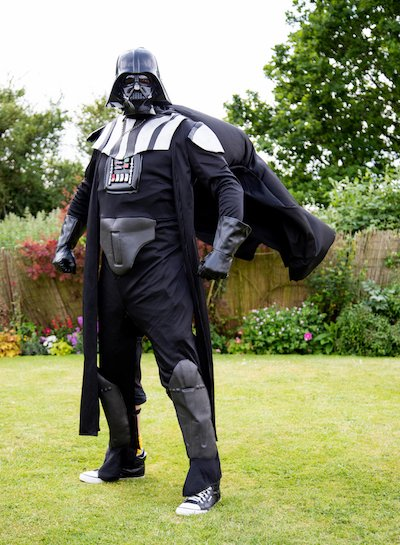 Funforce party Darf Vader kids birthday festival Norfolk