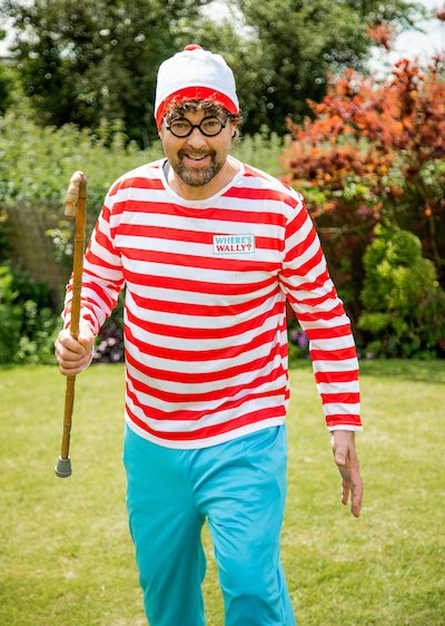 Funforce party where's wally kids birthday festival Norfolk