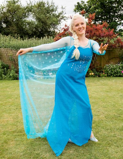 Funforce party Frozen Elsa kids birthday festival Norfolk