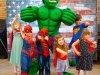 Funforce party Green Hulk costume character kids birthday festival Norfolk