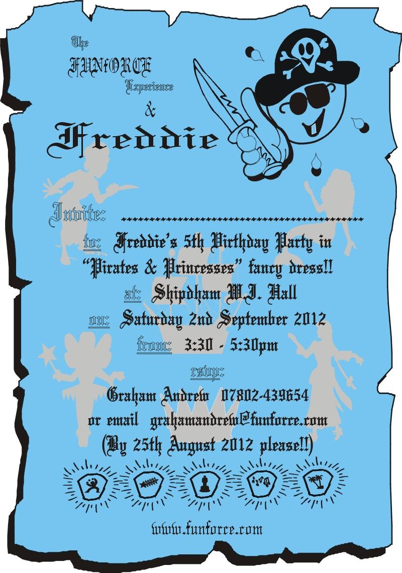 Pirates & Princesses party | funforce.com